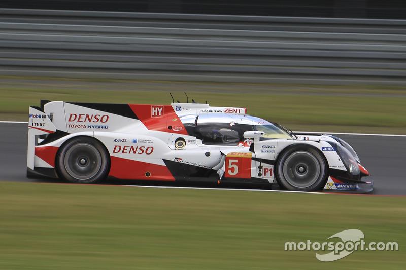 5. LMP1: #5 Toyota Racing, Toyota TS050: Anthony Davidson, Sébastien Buemi, Kazuki Nakajima