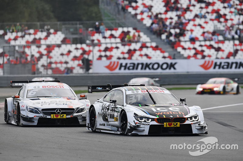Tom Blomqvist, BMW Team RBM, BMW M4 DTM