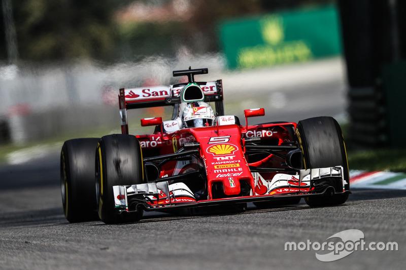 3: Себастьян Феттель, Ferrari SF16-H