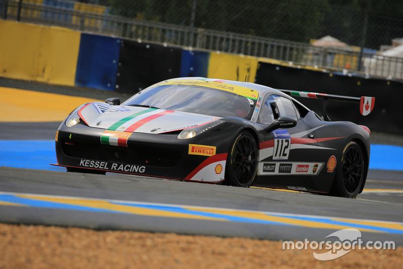 #112 Kessel Racing Ferrari 458 Challenge Evo: Rick Lovat