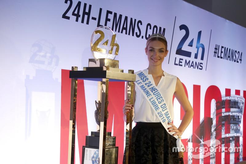 Conferencia de prensa de la ACO: Miss Le Mans 2016
