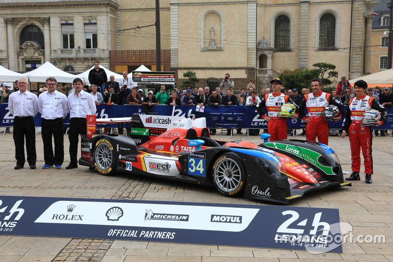 #34 Race Performance Oreca 03R - Judd: Ніколас Лайтвілер, Джеймс Вінсло, Шіндзі Накано