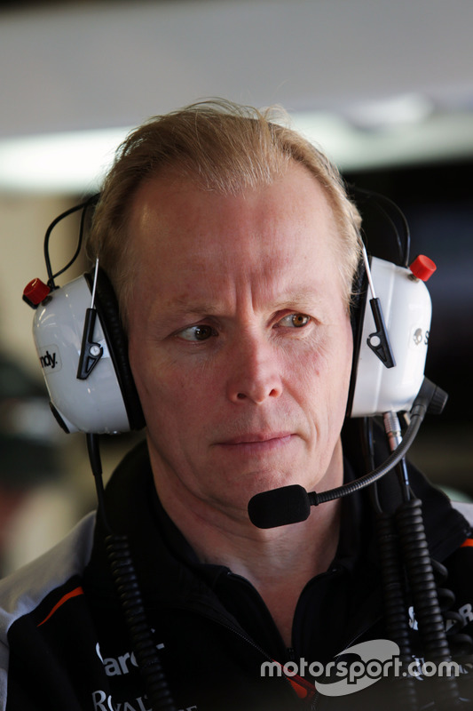 Andrew Green, Director de Sahara Force India F1 equipo técnico