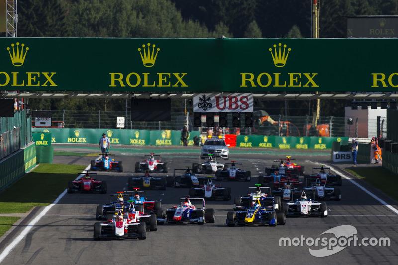 Start: Charles Leclerc, ART Grand Prix leads
