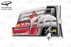 ferrari SF16-H old front wing, Malaysian GP