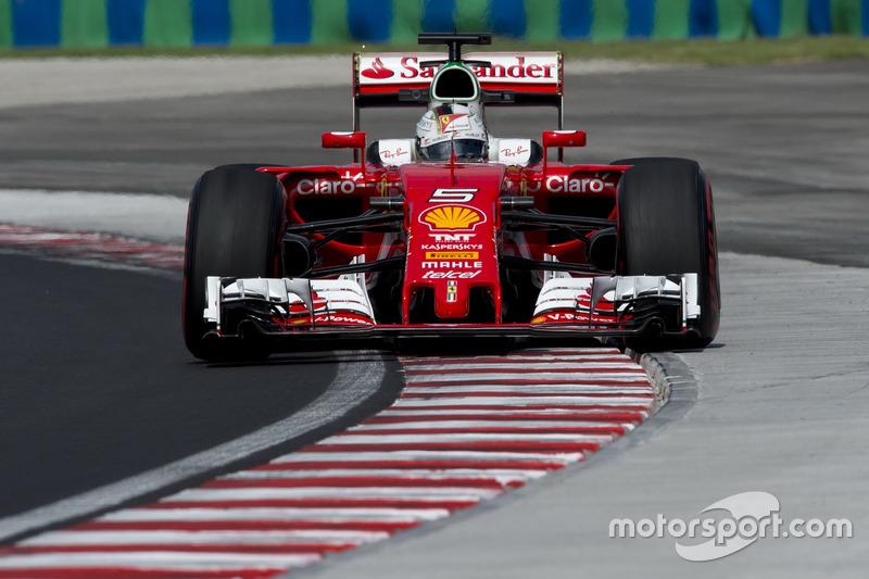 Sebastian Vettel, Ferrari, SF16-H