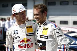 Marco Wittmann, BMW Team RMG, BMW M4 DTM; Tom Blomqvist, BMW Team RBM, BMW M4 DTM
