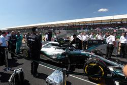 Lewis Hamilton, Mercedes AMG F1 in the grid