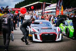 #66 Attempto Racing Audi R8 LMS: Pieter Schothorst, Steijn Schothorst, Jamie Green
