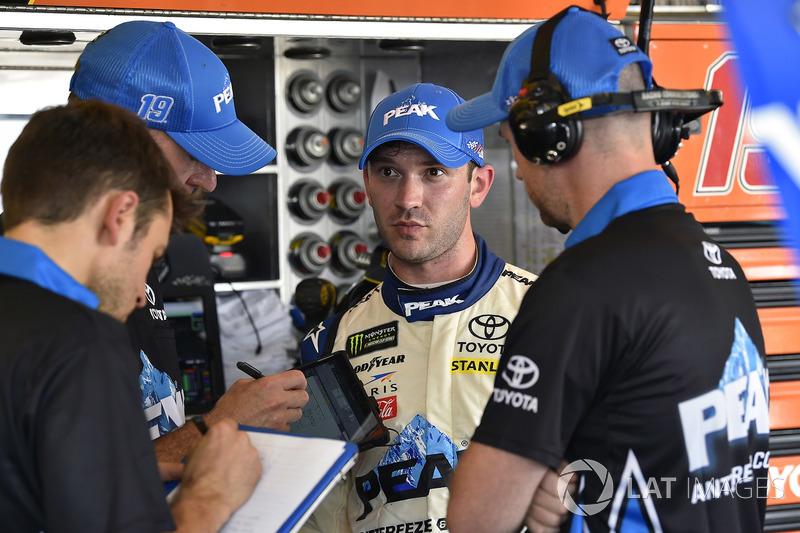 Daniel Suarez, Joe Gibbs Racing, Toyota Camry PEAK