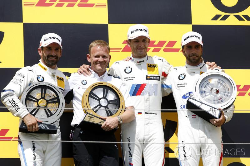 Три гонщики BMW опинились на подіумі