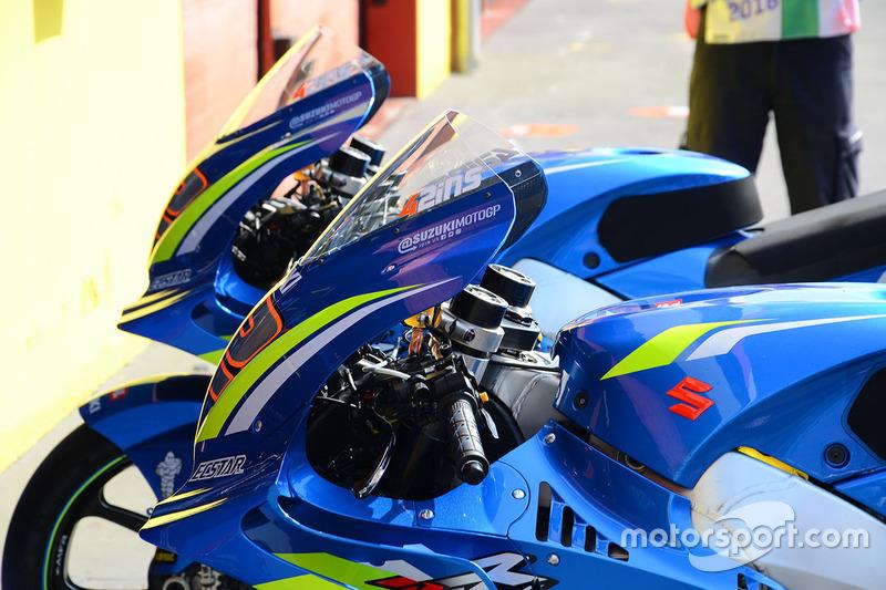 Team Suzuki MotoGP bike