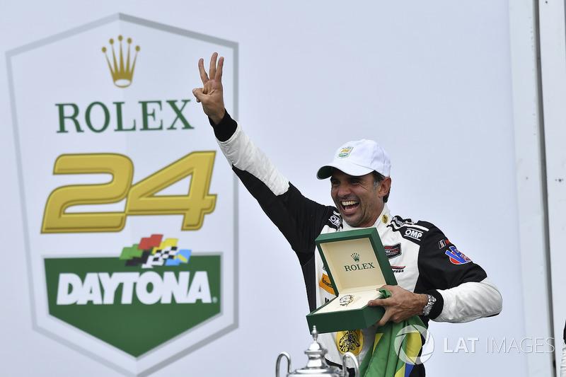 Por fim, se transferiu para o IMSA, categoria que lhe rendeu três vitórias nas 24 Horas de Daytona (2004, 2014, 2018)