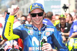 Il terzo classificato Valentino Rossi, Yamaha Factory Racing