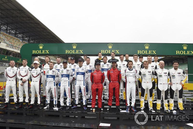 Classe 2018 della 24 Ore di Le Mans IMSA
