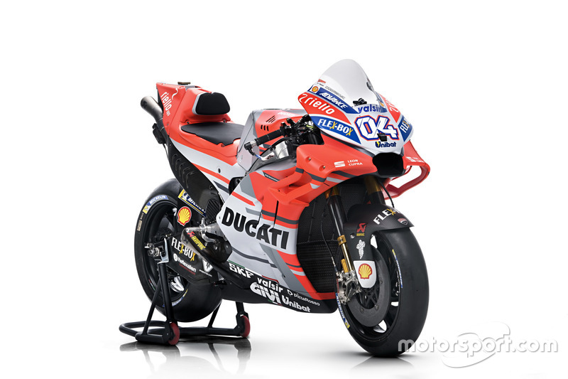 Bike of Andrea Dovizioso, Ducati Team