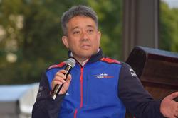 ホンダ 山本雅史モータースポーツ部長