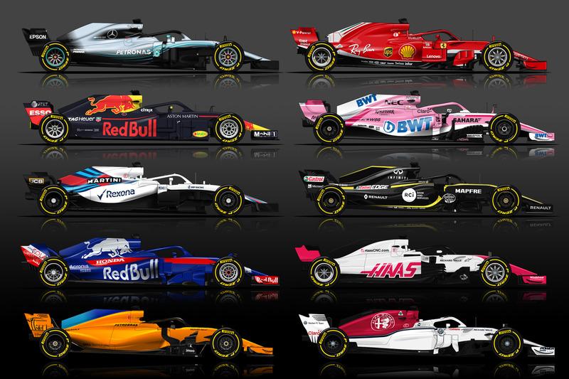 Formule 1 Guide F1 2018