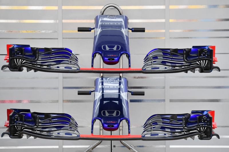 Scuderia Toro Rosso STR13 : museau et ailerons avants
