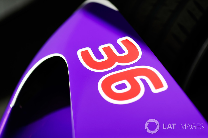 Car on Alex Lynn, DS Virgin Racing
