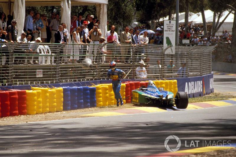 Michael Schumacher, Benetton B194 Ford kaza sonrası