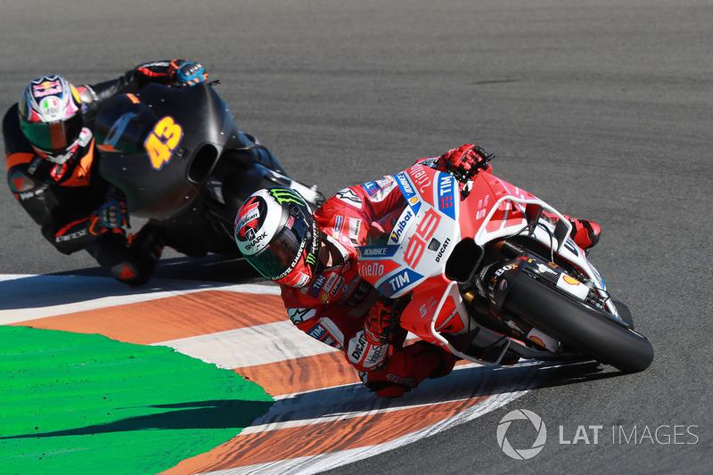Jorge Lorenzo, Ducati Team, Jack Miller, Pramac Racing