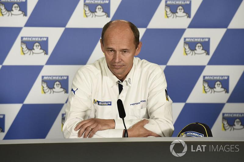 Ніколас Губер, виконавчий директор Кубку світу Moto-e