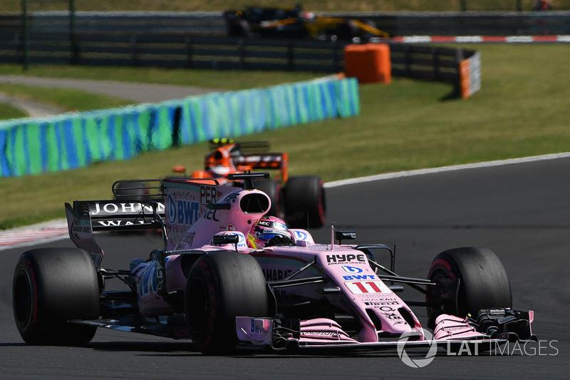 8 місце — Серхіо Перес (Мексика, Force India) — коефіцієнт 501,00