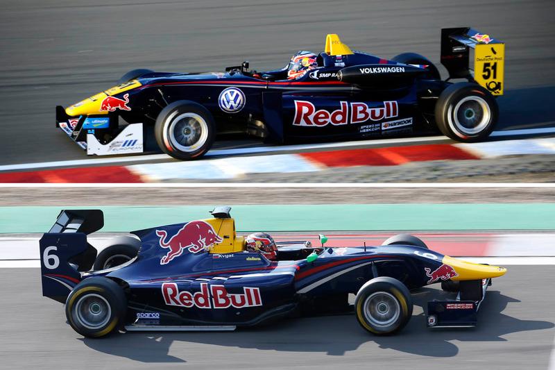 Сравнение машин GP3 и Ф3, Даниил Квят