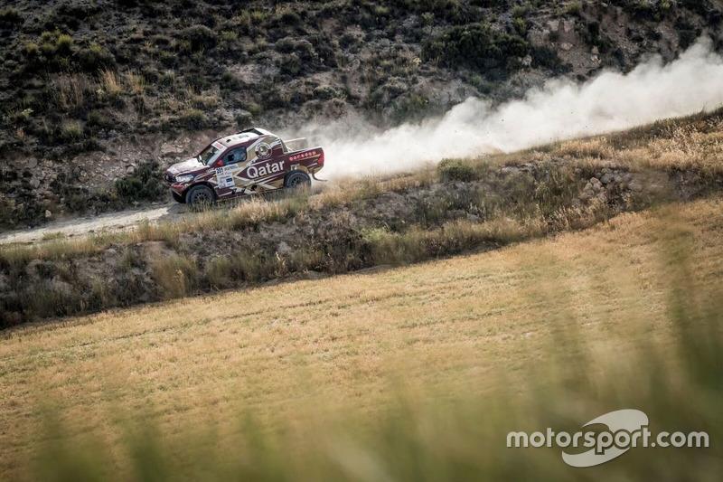 #201 Nasser Al Attiyah, Mathiue Baumel, Toyota Hilux