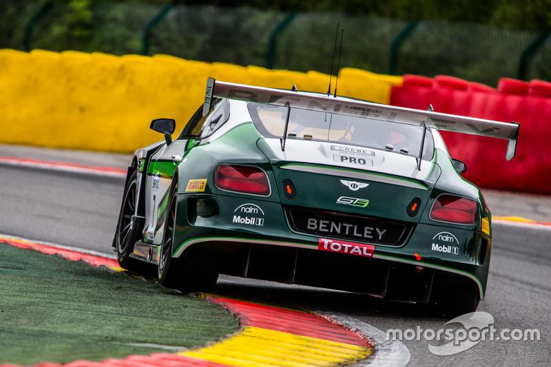#7 Bentley Team M-Sport Bentley Continental GT3: Steven Kane, Guy Smith, Oliver Jarvis