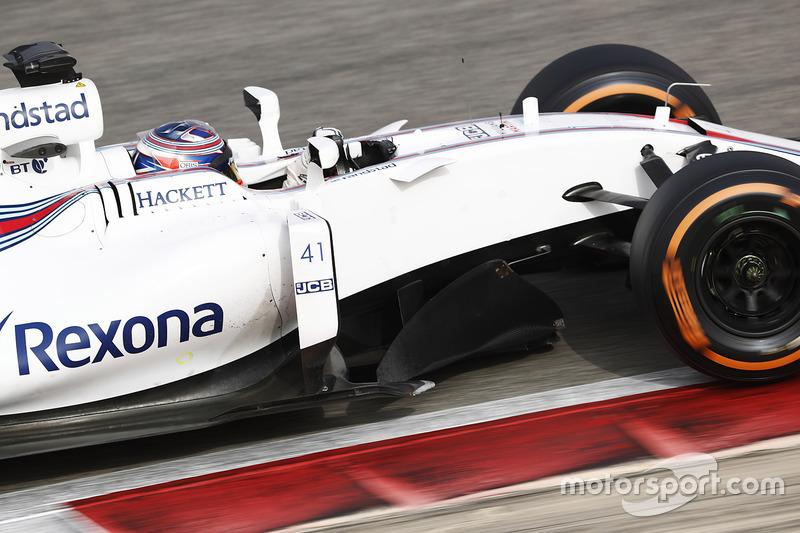 Gary Paffett, Williams FW40