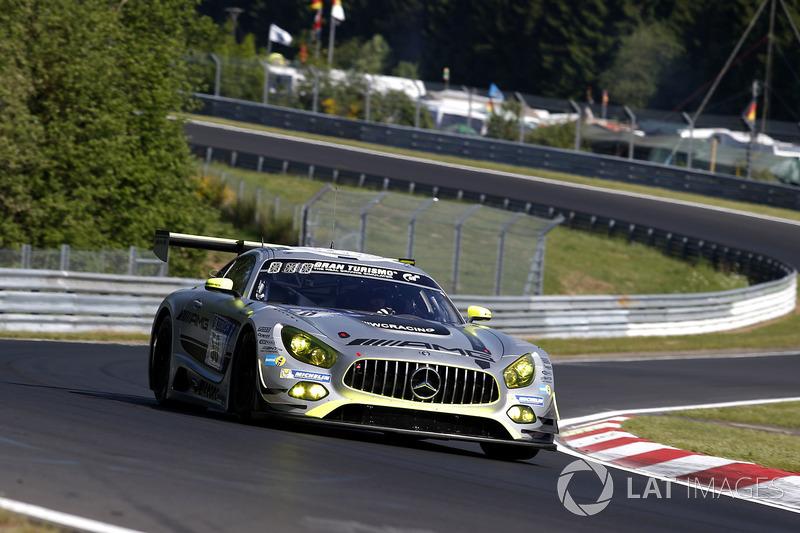 6. #50 Mercedes – AMG Team HTP Motorsport, Mercedes-AMG GT3