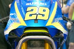 Andrea Iannone, Team Suzuki MotoGP con el nuevo paquete aerodinámico
