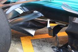 Mercedes F1 W08: Schaufel
