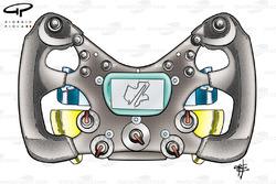 BMW Sauber F1.06 steering wheel