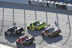 Christopher Bell, Kyle Busch Motorsports Toyota, Matt Crafton, ThorSport Racing Toyota, Grant Enfinger, ThorSport Racing Toyota, Ross Chastain, Bolen Motorsports Chevrolet