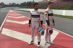 Fernando Alonso y Stoffel Vandoorne, McLaren