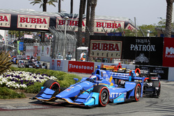 Restart: Scott Dixon, Chip Ganassi Racing, Honda, führt