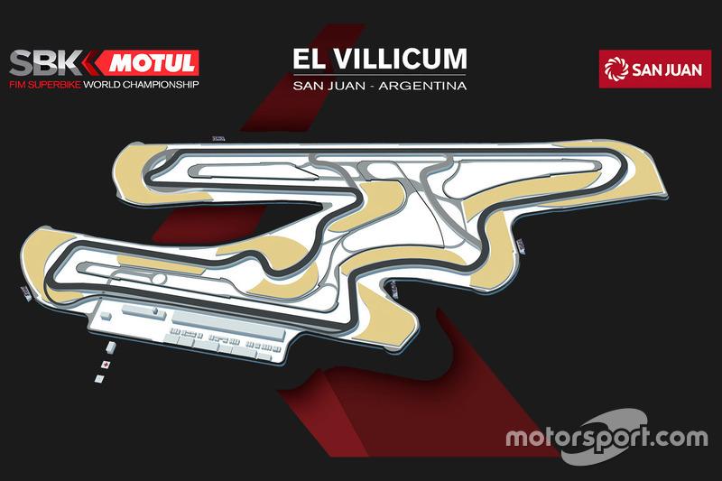 Mapa del circuito de El Villicum