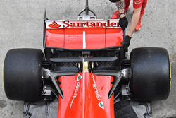 Rear wing detail of Sebastian Vettel, Ferrari SF70H
