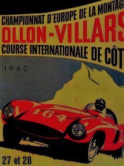 Ollon-Villars, Affiche 1960