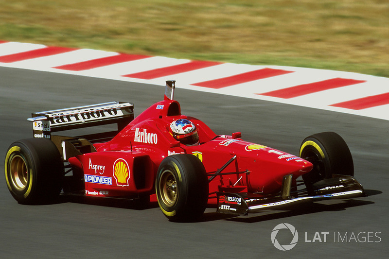 14. Hungría 1996, Ferrari F310