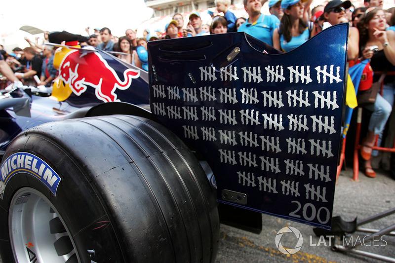 Red Bull fête les 200 GP de David Coulthard