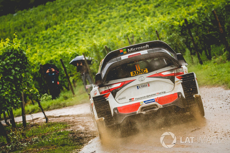 Юхо Хяннинен и Кай Линдстрём, Toyota Yaris WRC