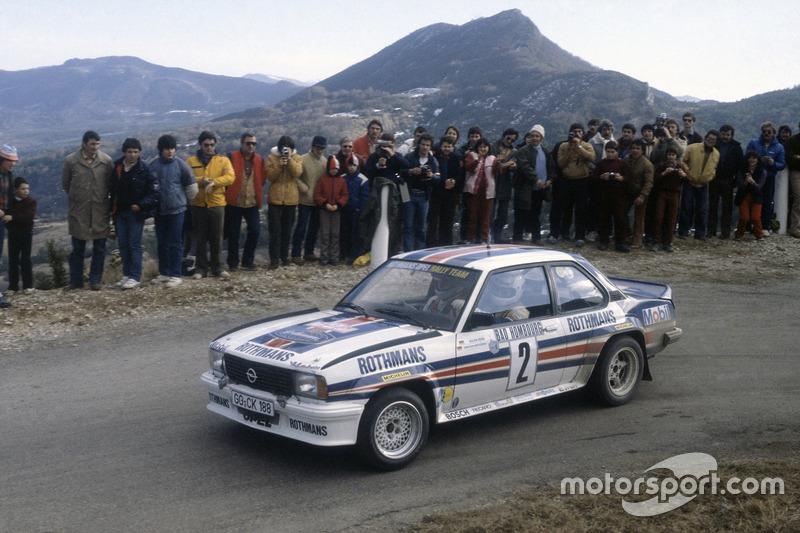 Walter Rohrl, Christian Geistdörfer, Opel Ascona 400