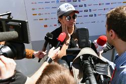 Sergio Pérez, Sahara Force India F1con los medios
