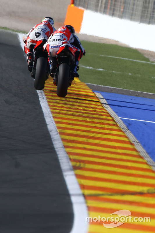 Danilo Petrucci, Pramac Racing; Scott Redding, Octo Pramac Racing