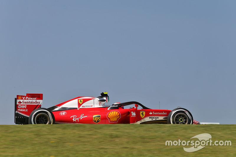 Halolu Kimi Raikkonen, Ferrari SF16-H