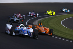 Jay Howard, Schmidt Peterson Motorsports Honda, Fernando Alonso, Andretti Autosport Honda